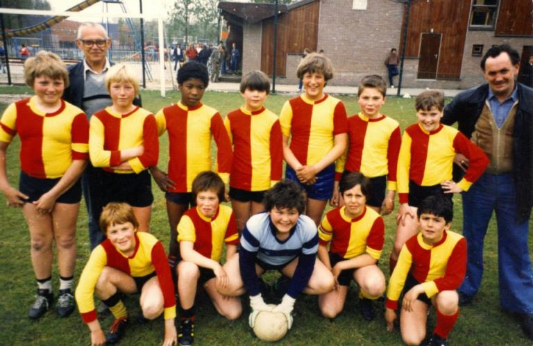 kinder voetbal competitie