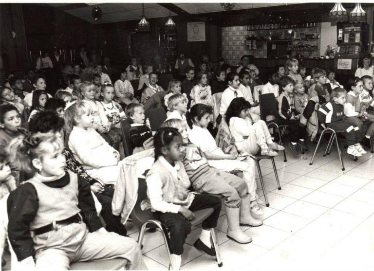 1972 feest voor de kinderen